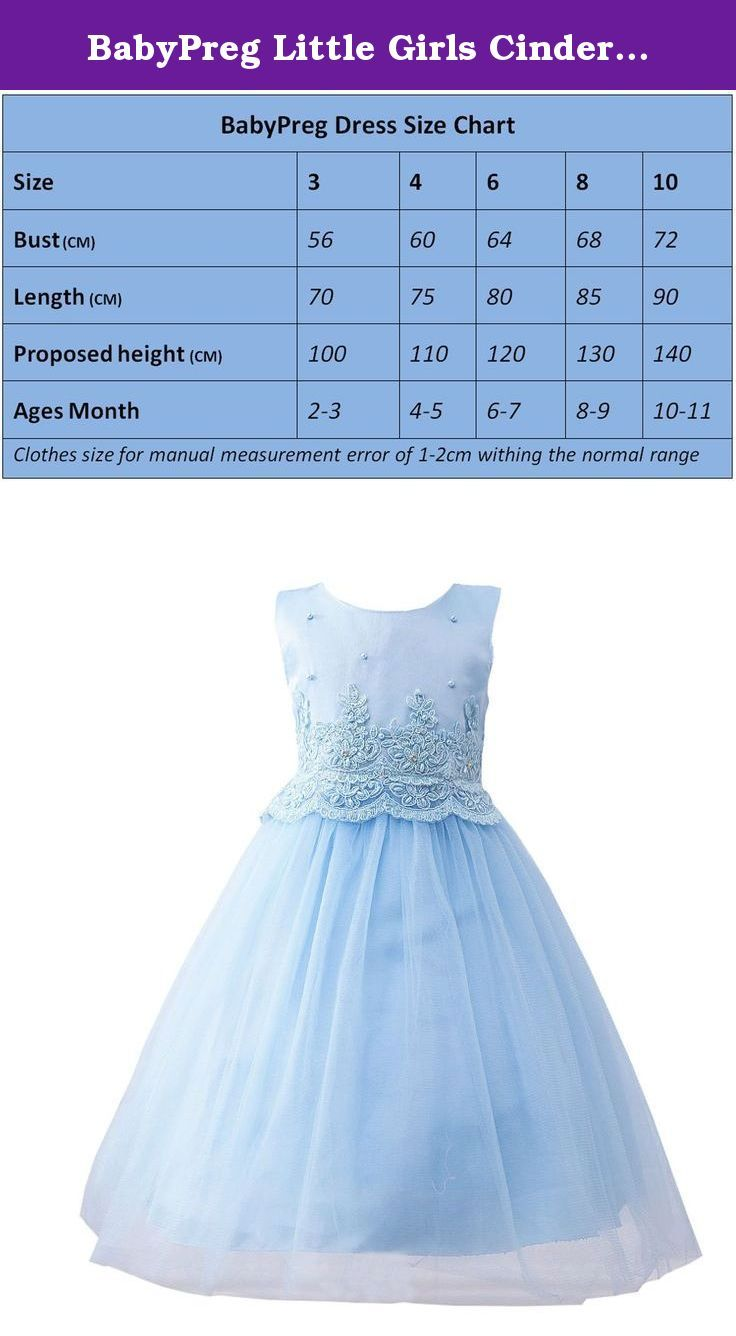 Babypreg little girls cinderella tulle embroidered lace gown wedding