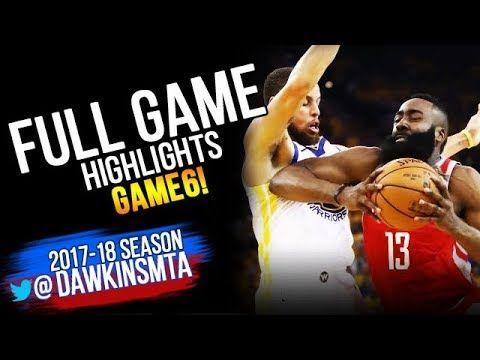 4b2943572ba Golden State Warriors vs Houston Rockets Full Game Highlights