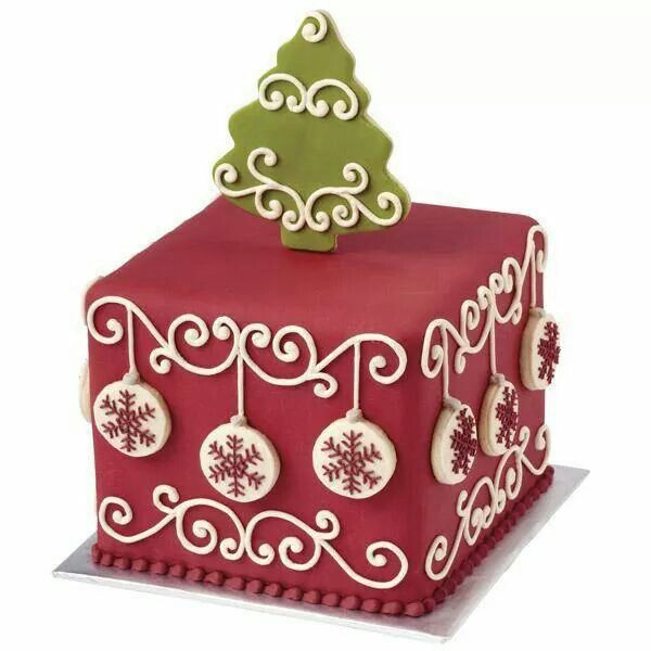 Christmas ornaments cake Cakes Pinterest Christmas ornament