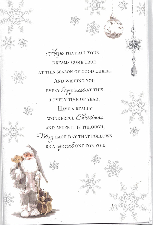 Small Of Christmas Card Verses