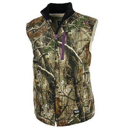 walls womens sherpa lined vest realtree extra xxlarge on walls legend hunting coveralls id=25776