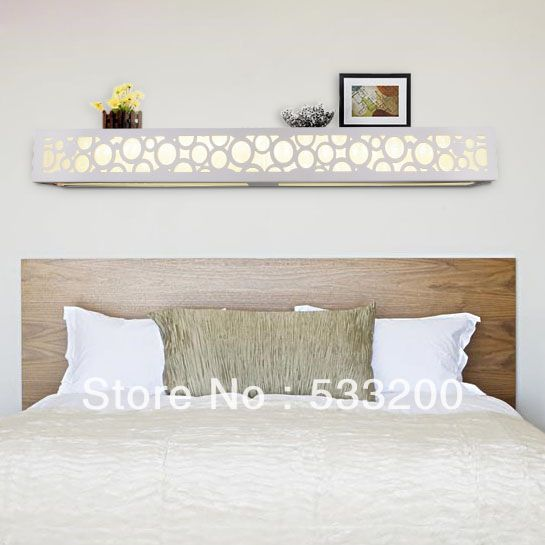 LED Wooden Wall Lamp 1.2m Bed Of Head Wall Lamp Modern Bedroom ...
