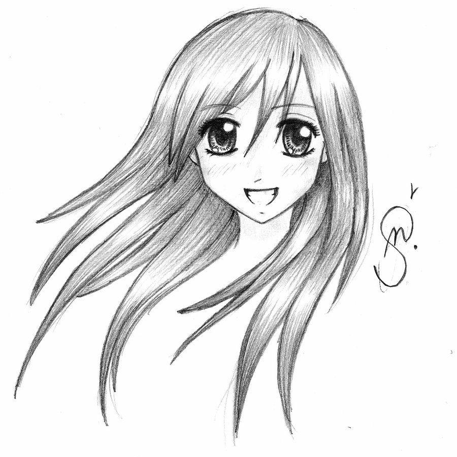 random manga girl by SagitaDawson.deviantart.com on @DeviantArt ...