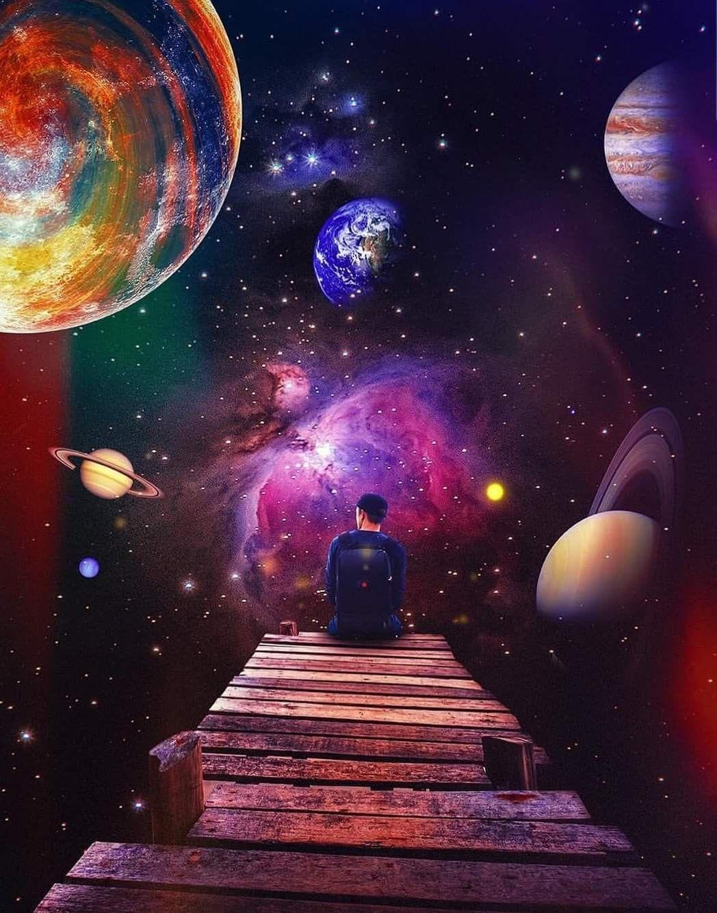 Pin de Yunke Floowwh en Frases cósmicas y espirituales | Arte del universo, Arte de galaxia, Pintura de galaxias