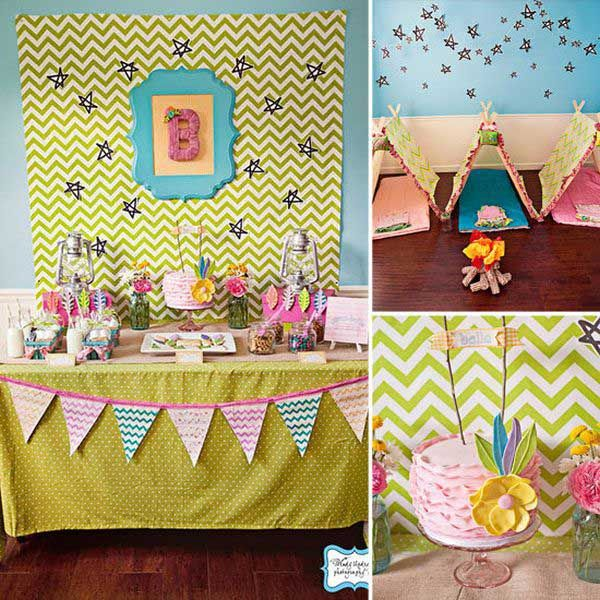 9 ideas para decorar un cumplea os infantil de una ni a for Decoracion cumpleanos nino