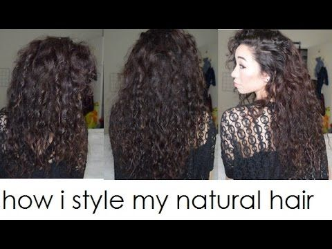 How I Style My Natural Asian Curly Hair Curl Type 2c 3a Jehbuu Types Of Curls Curly Hair Styles Natural Hair Styles