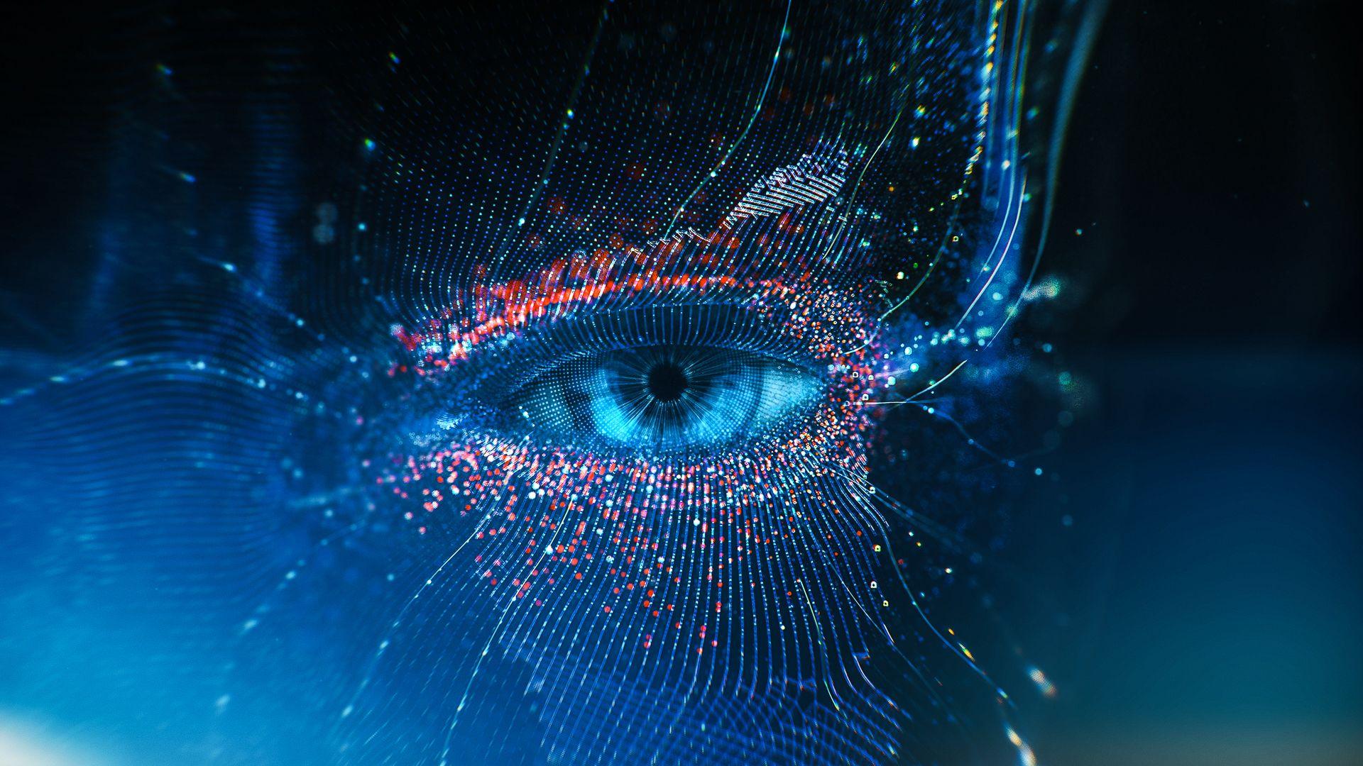 Xbox One X E3 2017 On Behance Eyes Wallpaper Digital Artwork Eye Illustration