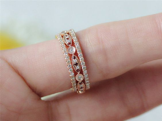 band antique wedding ring ruby white deco products art boylerpf bands eternity topaz