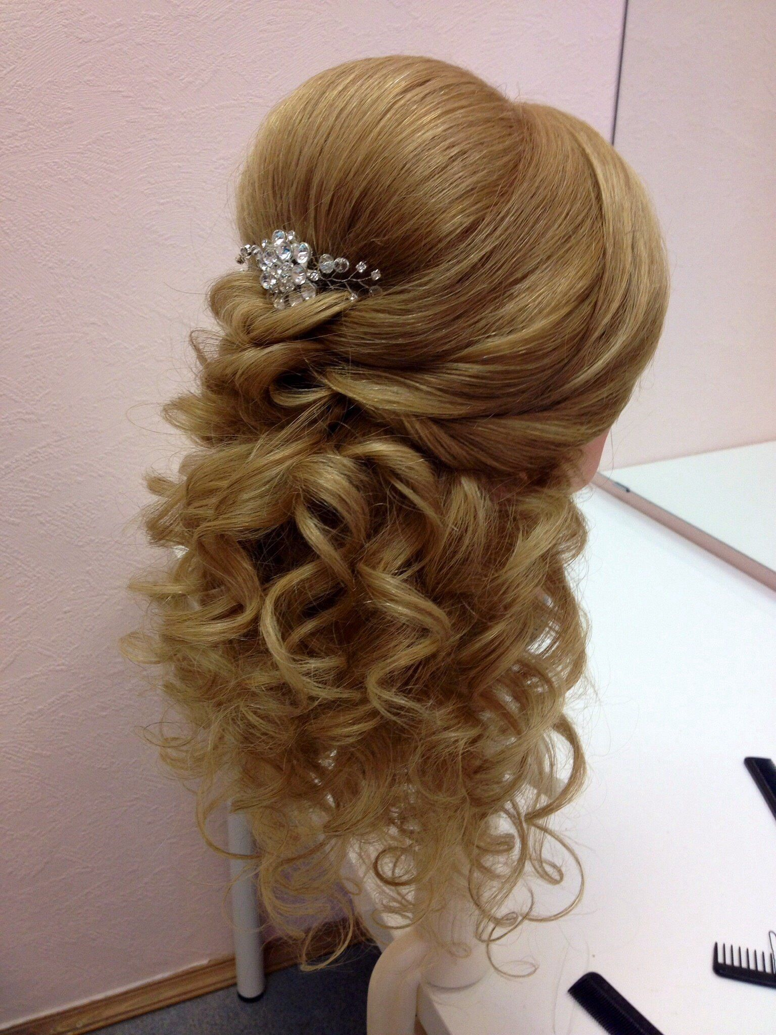 Bridal hair style wedding things pinterest cabello peinados