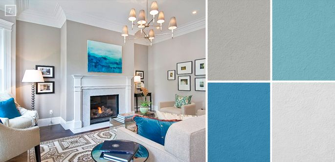 Merveilleux Ideas For Living Room Colors: Paint Palettes And Color Schemes