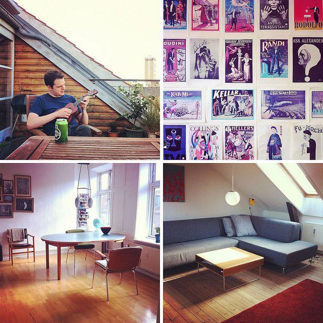 Copenhagen apt via Airbnb