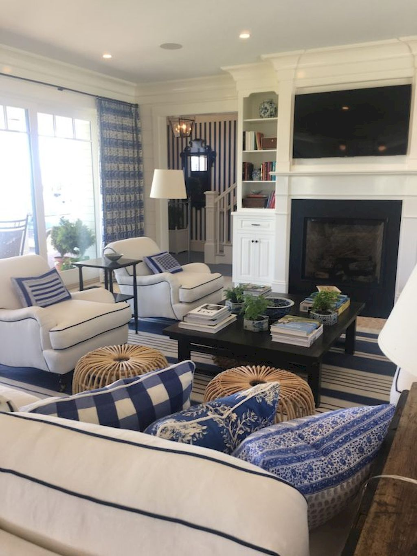Coastal Living Room Decorating Ideas. Cozy Coastal Living Room Decorating  Ideas (42 E