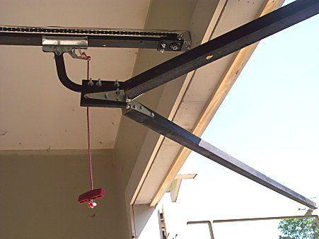 Make Carriage Door Opener In 2019 Diy Garage Door Barn