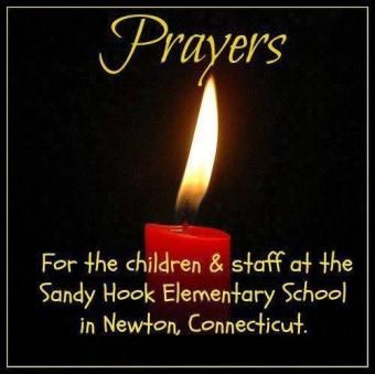 PRAYER CANDLE FOR SANDY HOOK  Like it, Pin it, Share it across all social media to show support for the victims.