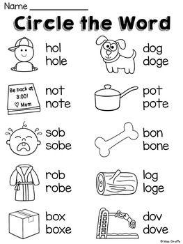 Long O Worksheets And Activities No Prep English Grammar For