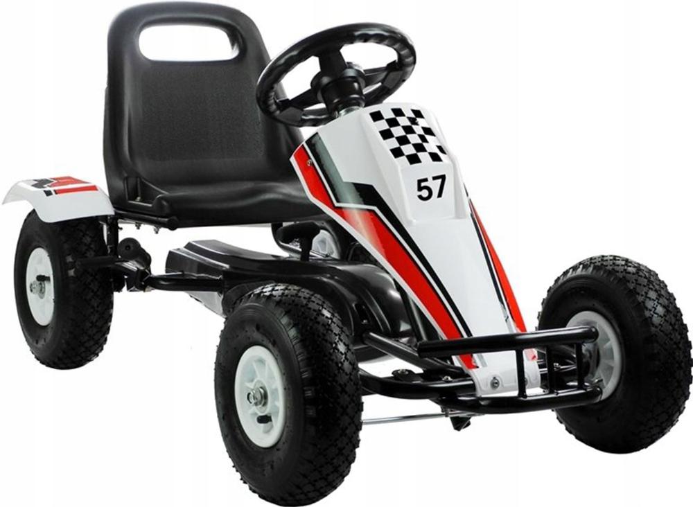 Kup Teraz Na Allegro Pl Za 399 Zl Duzy Gokart Dla Dzieci Na Pedaly Pompowane Kola 8131213998 Allegro Pl Radosc Za Go Kart Riding Outdoor Power Equipment