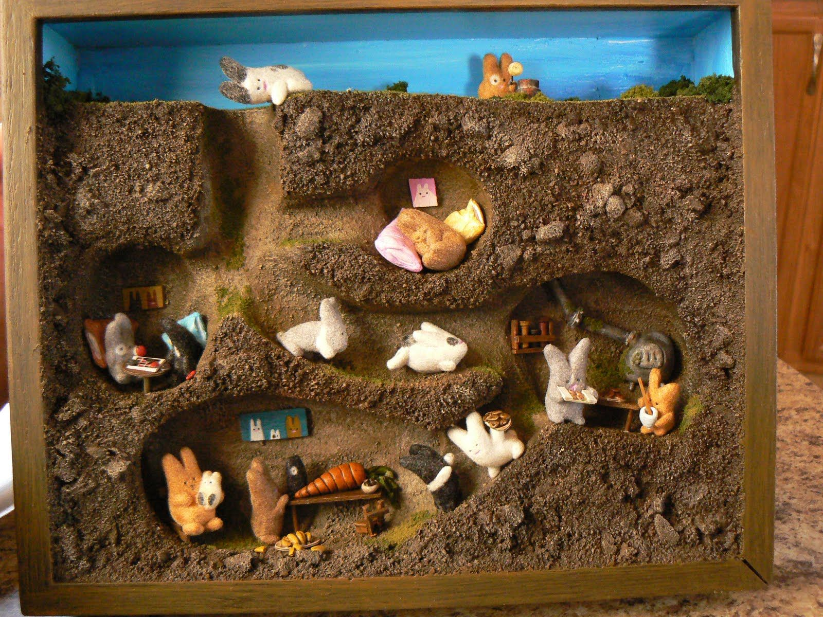 Kids Diorama With Details: Dioramas Are So Much Fun To Make With Kids And It's Also A