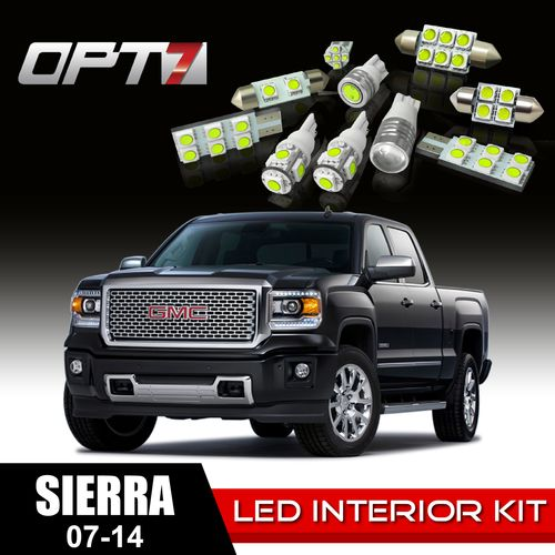 14pc Interior Led Replacement Light Bulbs Package Set For 07 14