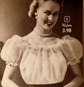 1950s Tops And Blouse Styles 1950s Fashion Pinterest Blouse