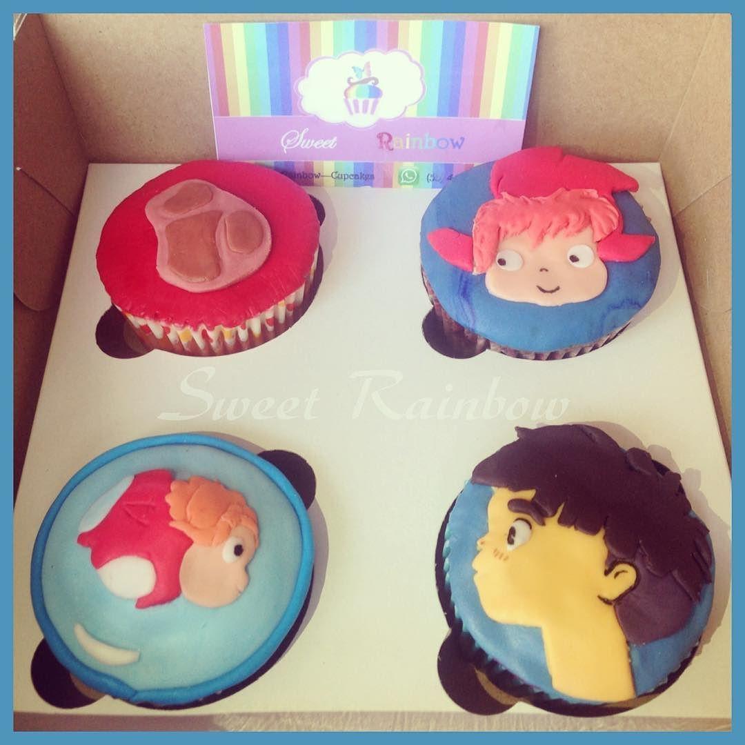 Gake no ue no Ponyo Ponyo en el acantilado  Sweet Rainbow-Cupcakes en el Festival de los Espíritus del Bosque. 28 y 29 de Mayo :D Salón de Ferrocarrileros: Ponciano Arriaga #20 Col. Tabacalera Ciudad de México México Gracias por el espacio @capsuladeimaginarios  #ponyo #sweetrainbow #cupcakes #ghibli #hayaomiyazaki by yinyue2405