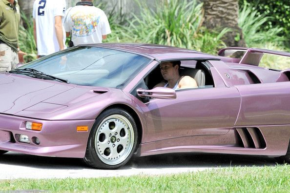 Mark Wahlberg Takes A Spin In A Lamborghini Diablo | Stars and their on purple nissan gt-r 2014, purple dodge durango 2014, purple volkswagen beetle 2014, purple corvette 2014, purple bugatti veyron 2014, purple dodge challenger 2014, purple lotus elise 2014,