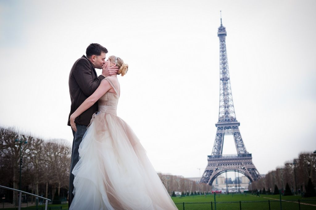 Elopement In Paris Jacquie Justin By The Photographer