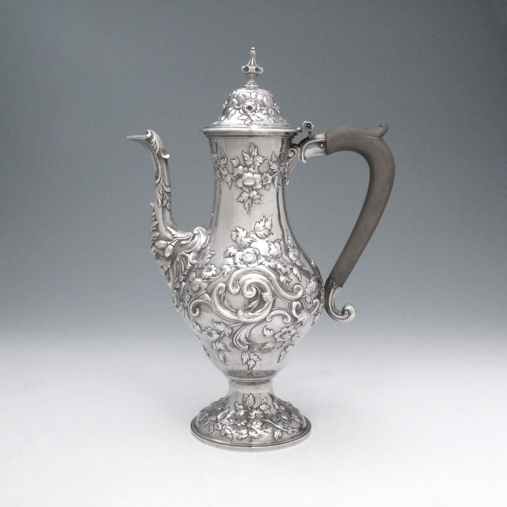 A George Iii Antique English Silver