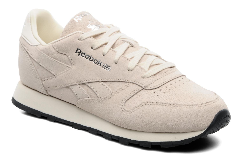 reebok classic beige