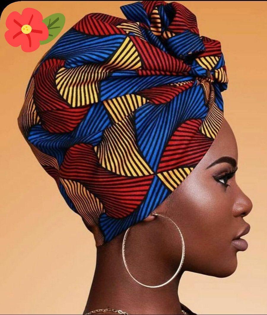 Beautiful African Headwrap/ Headwrap for black wom