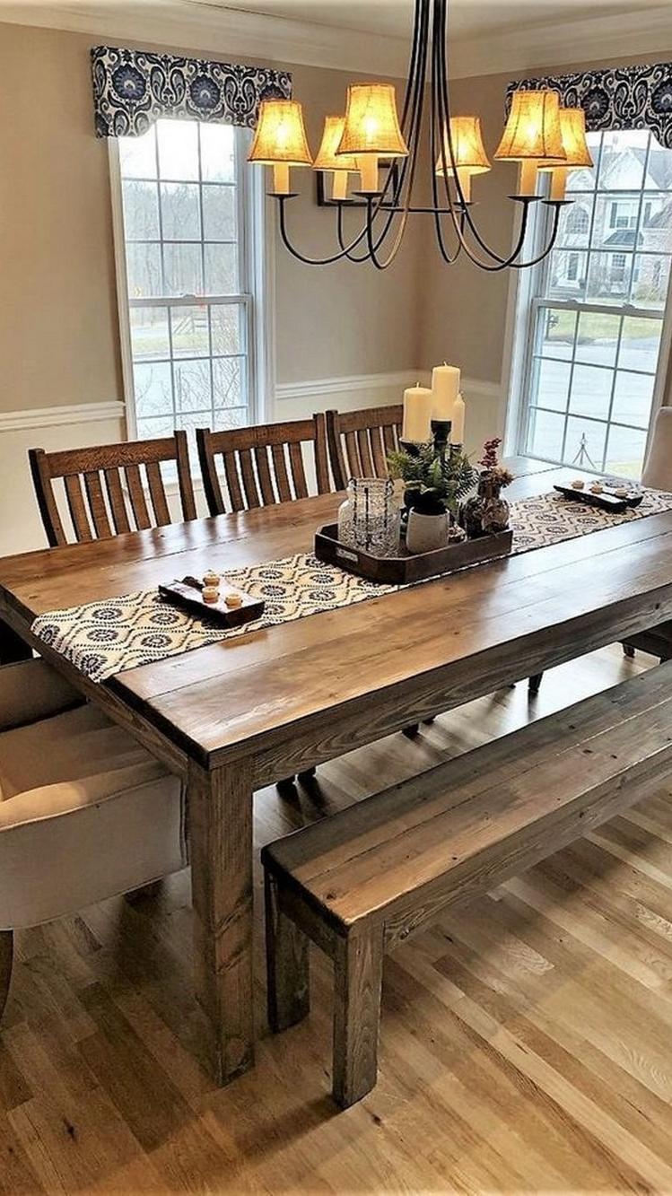 12+ Farmhouse Dining Room