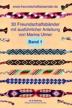 Freundschaftsbänder, Freundschaftsbändchen selber knüpfen #textiledesign