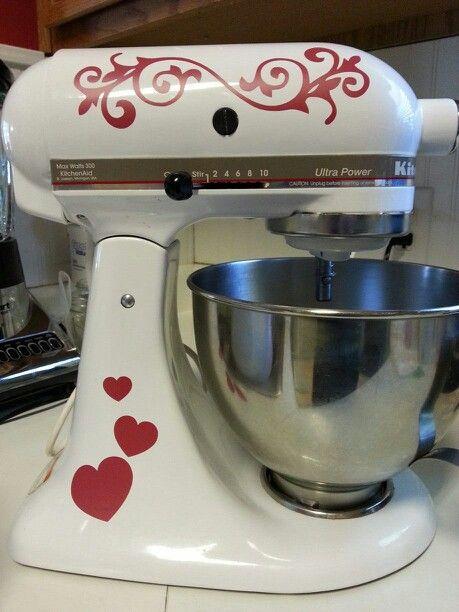 Fun Decorating My Kitchenaid Mixer.