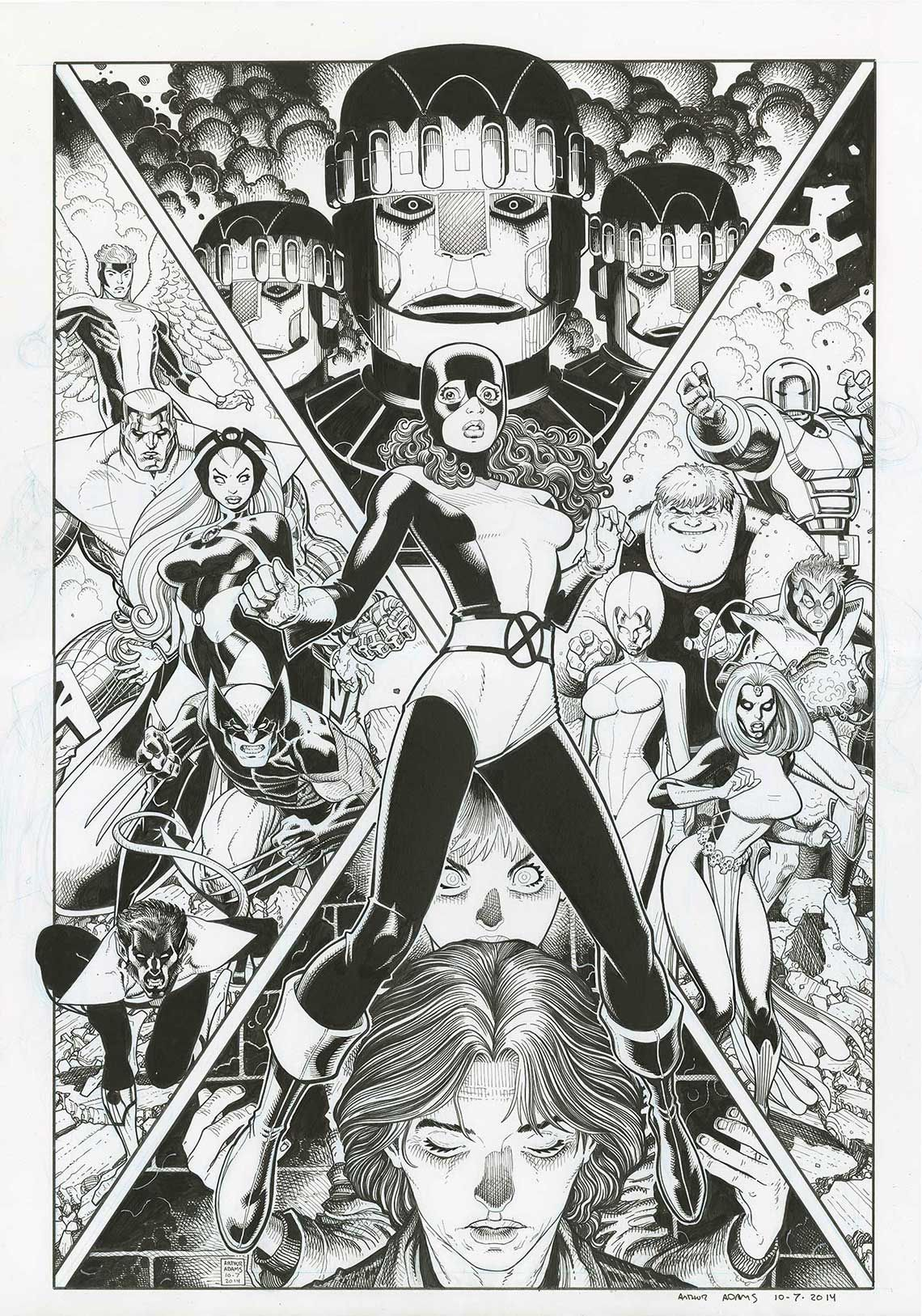 Prints | Arthur Adams | Arthur Adams | Marvel comics ...