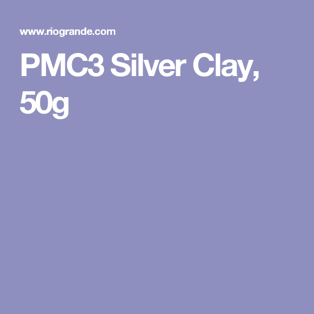 PMC3 Silver Clay, 50g
