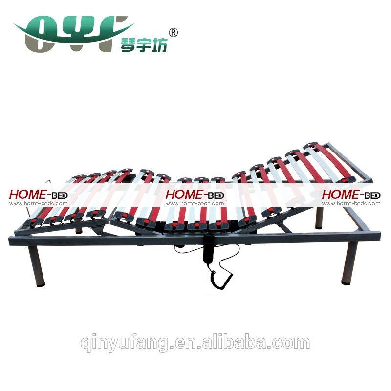 Electric Bed Parts Fiberglass Adjustable Bed Frame, Raisable Bed ...