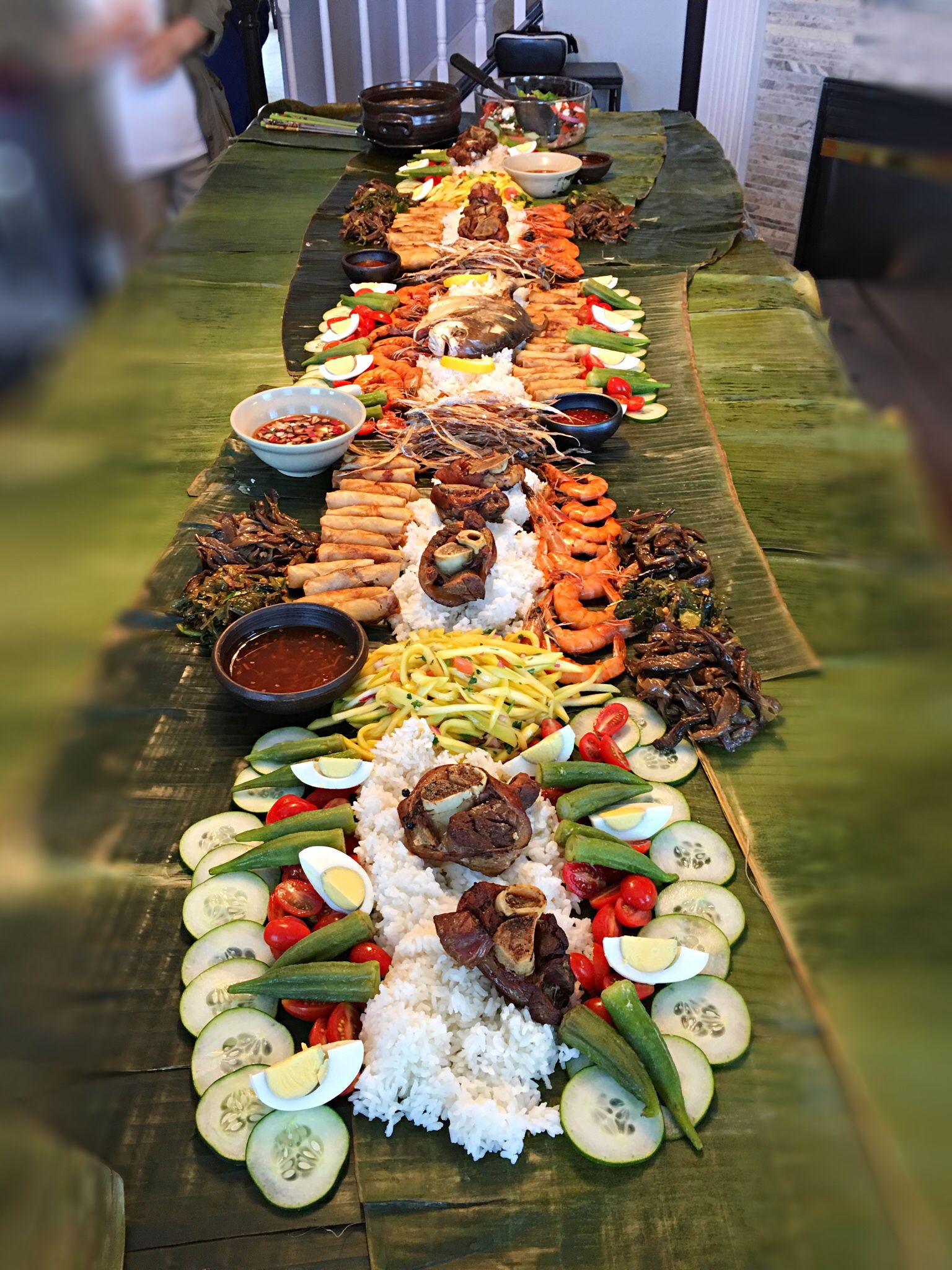 Filipino boodle fight … | jiko in 2019…