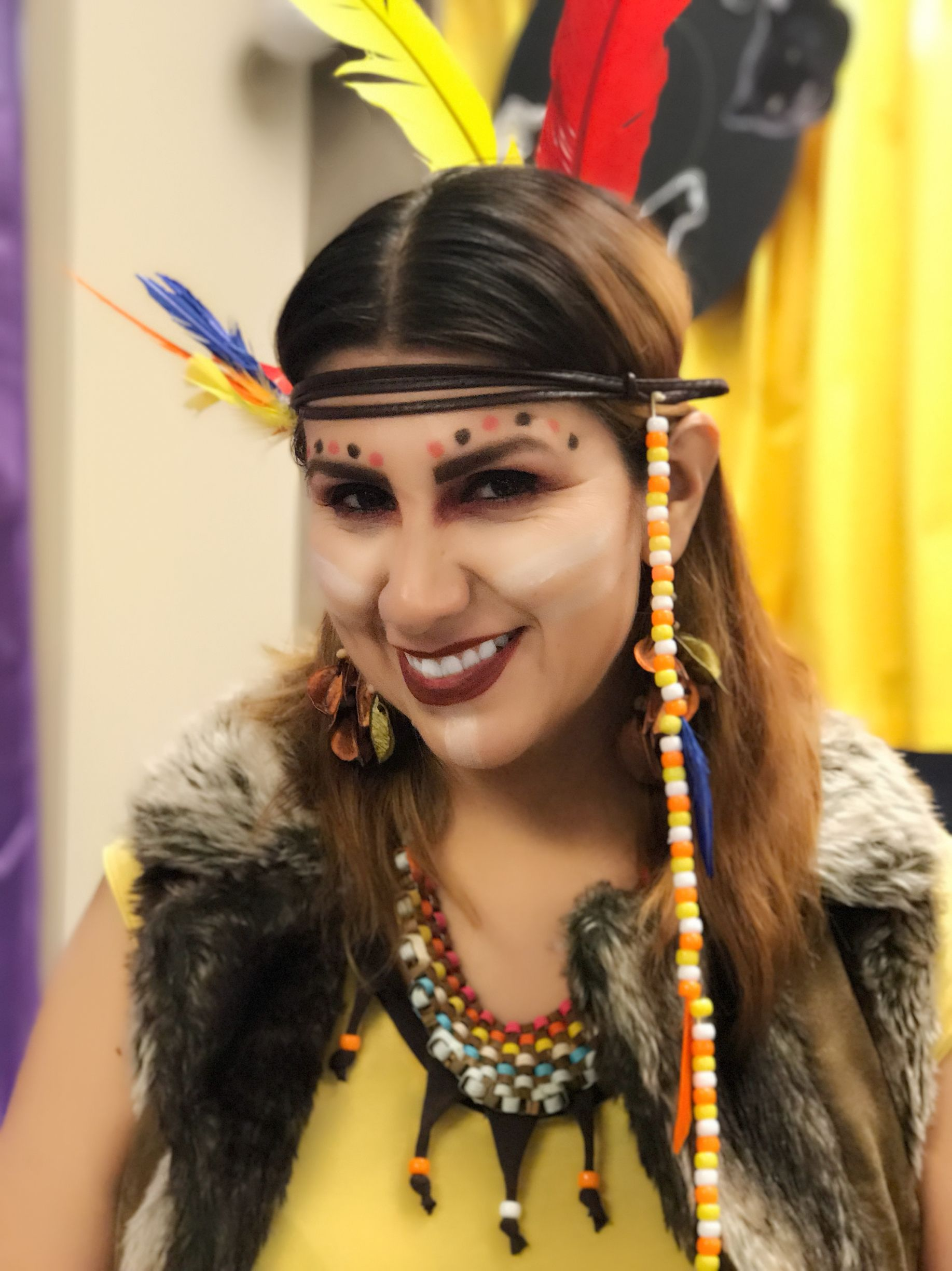 American Indian make up. Thanksgiving Makeup, Hair