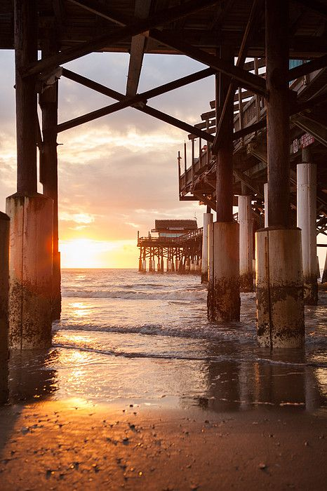 Sunrise At Cocoa Beach Pier, By Will Tan