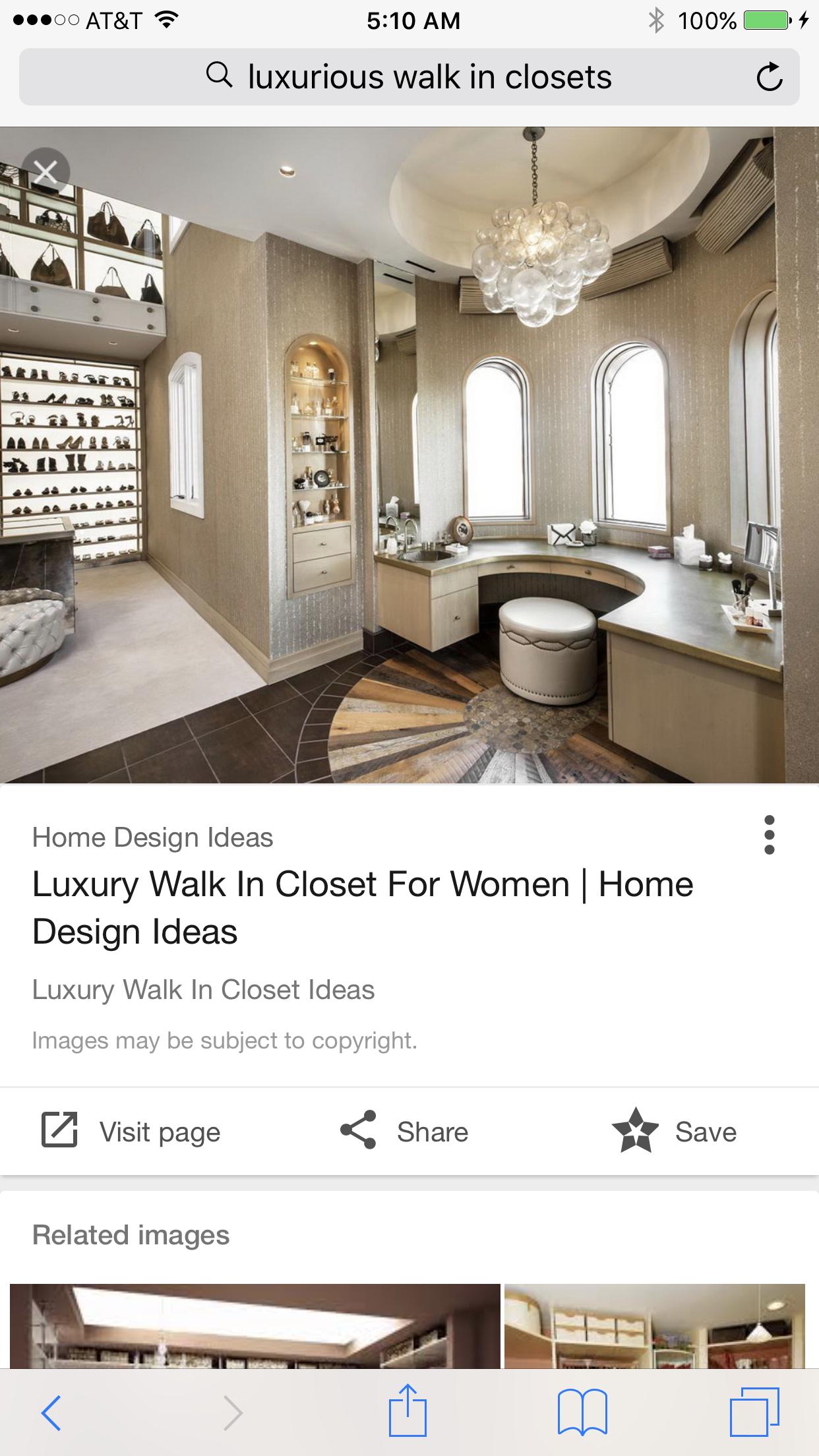 Walks, Closet