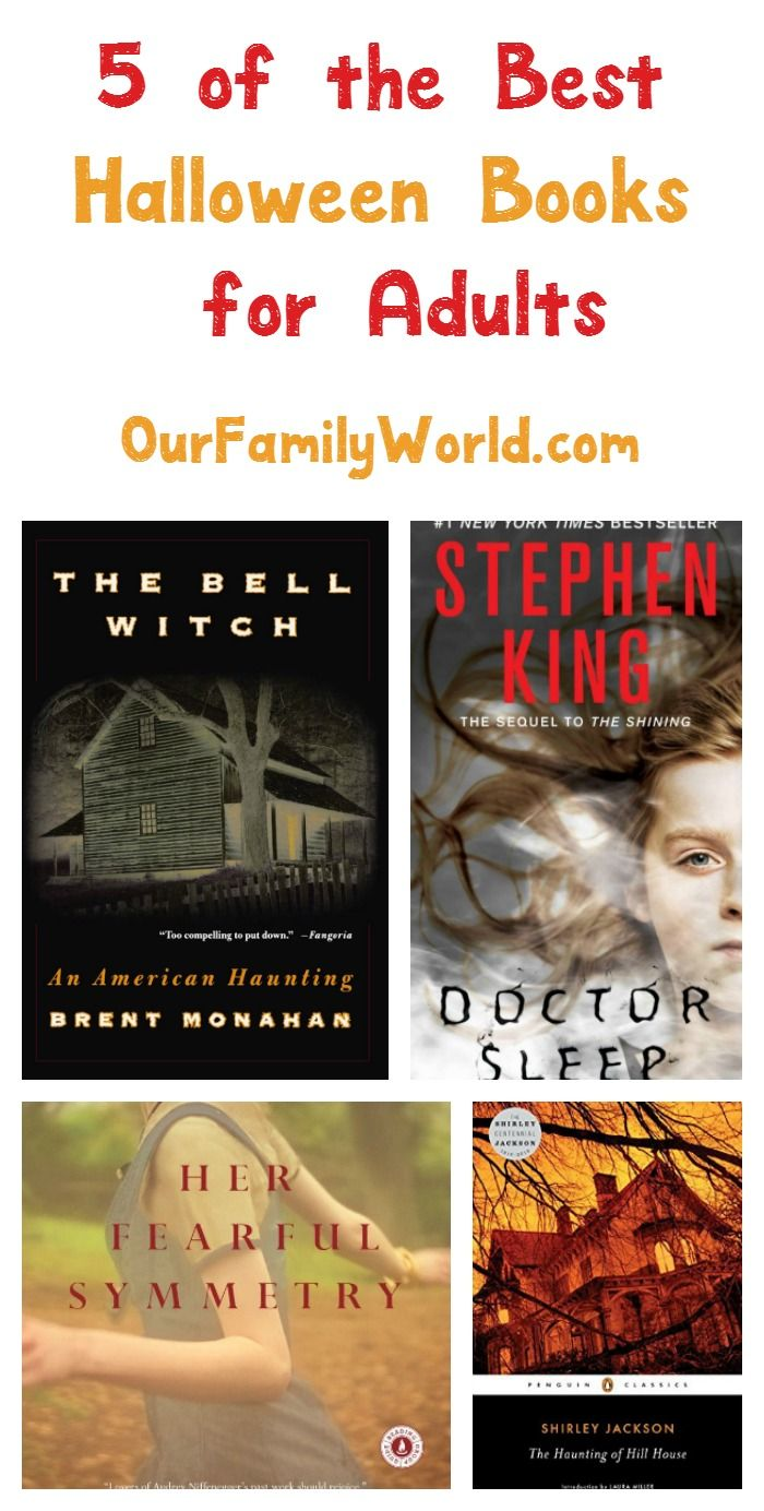 5 of the best halloween books for adults our family world