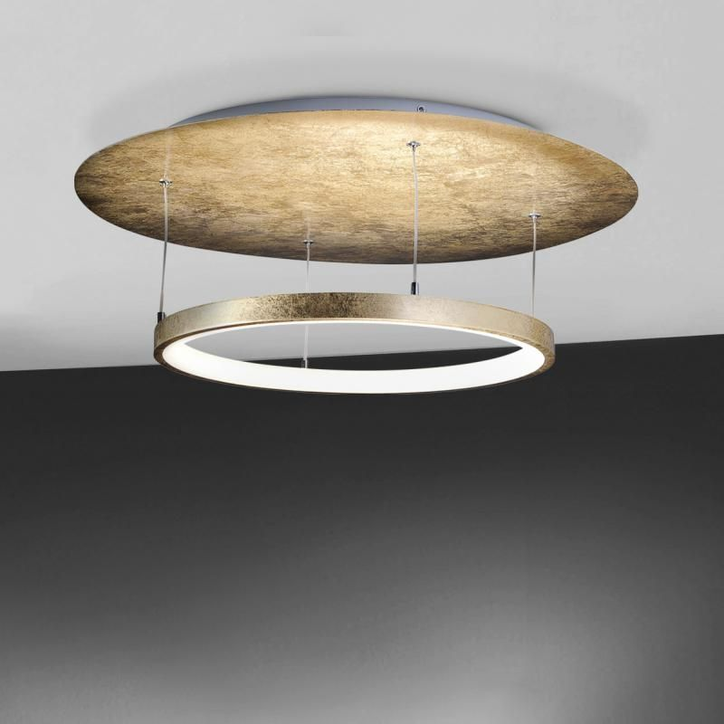 Paul Neuhaus Nevis LED Deckenleuchte, rund 8135