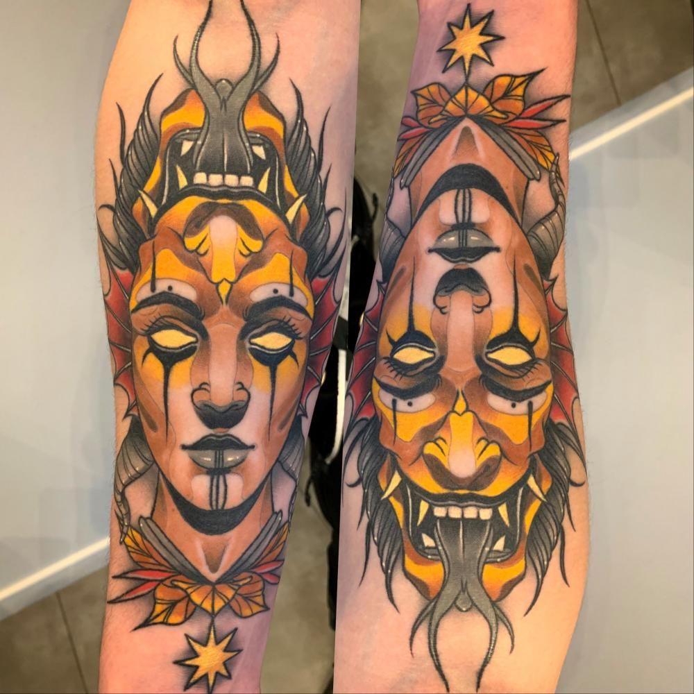 Nelson Sacramento Lisbon Tattoo Artist In 2020 Traditional Tattoo Neo Traditional Tattoo Tattoos