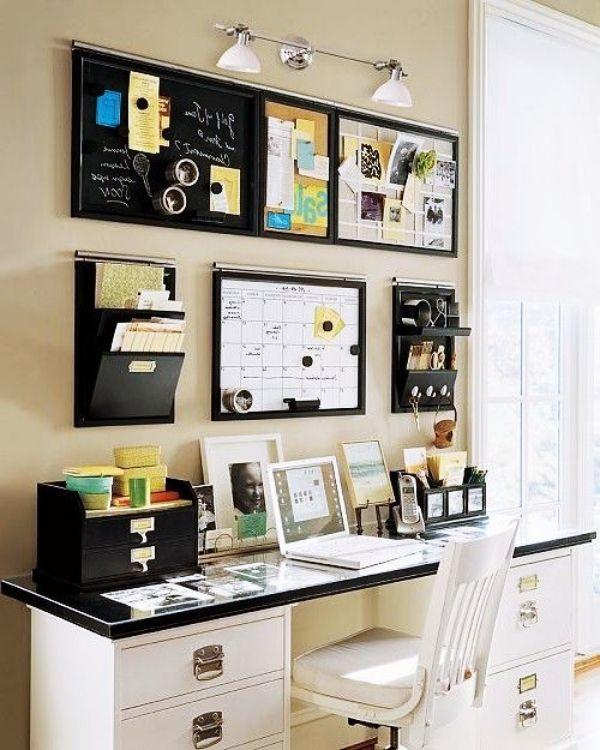 20 Amazing Office Wall Decor Ideas Cozy Decoration Decor Home Decor Home Decor Ideas Colorfu Home Office Design Small Home Office Elegant Home Decor