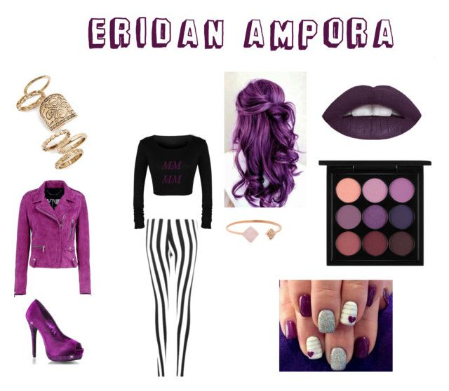 """Eridan Ampora"" by eriadaampora ❤ liked on Polyvore featuring Barbara Bui, Topshop, Michael Kors and MAC Cosmetics"