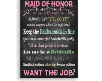 how to ask 2 maids of honor