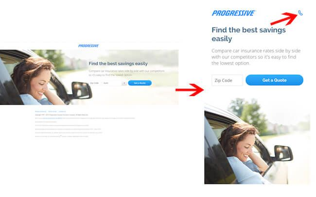 How To Design An Effective Mobile Landing Page Mobile Landing
