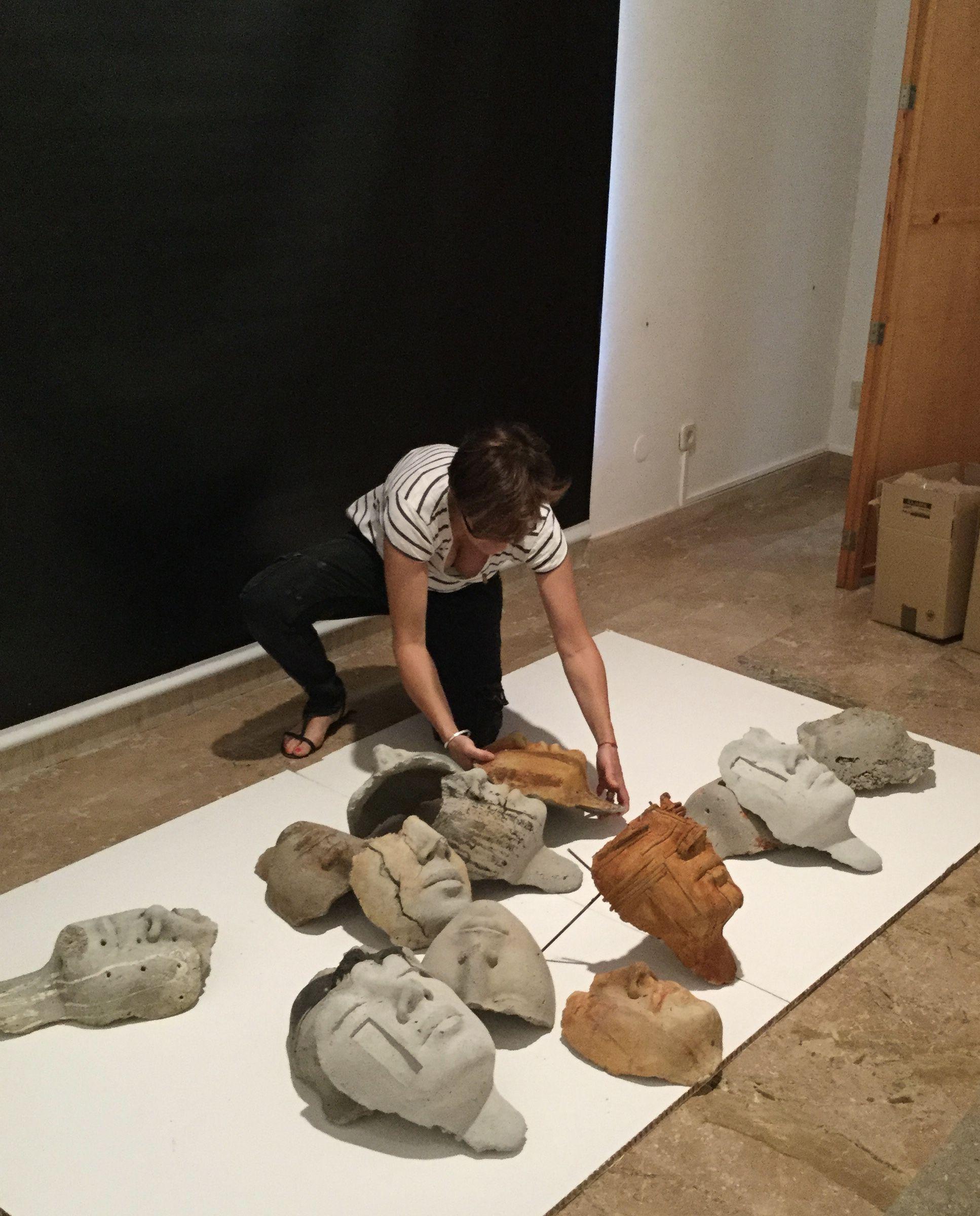 "Inatallation ""War Damages"" Musee d'art Moderne de Tarragone 2016"