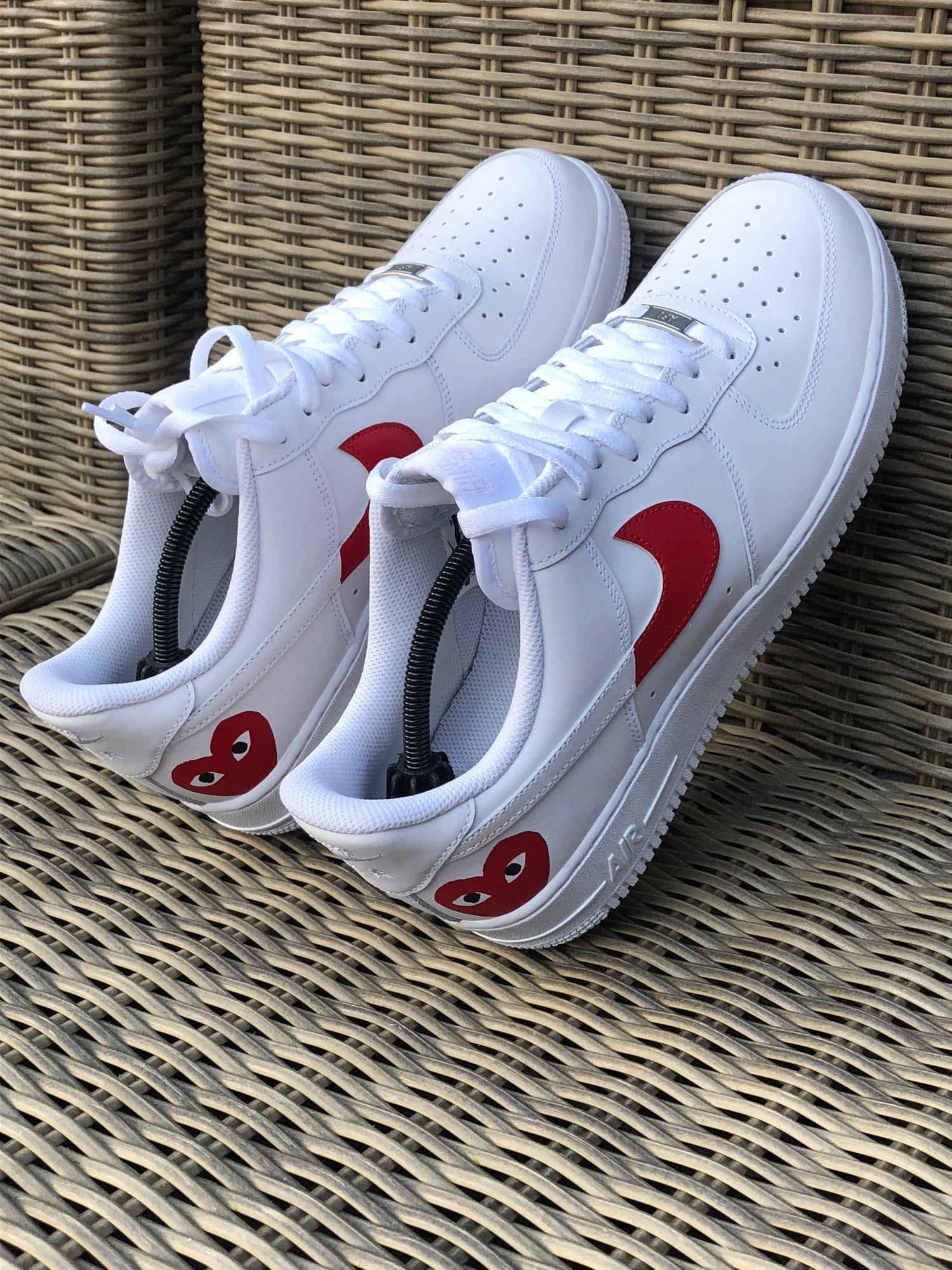 Nike Air Force 1 X Comme Des Garçons | Nike shoes air force, Nike ...