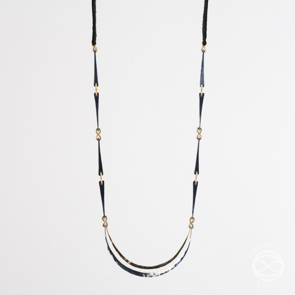 Clementine & Co - Long Nights Moon Necklace