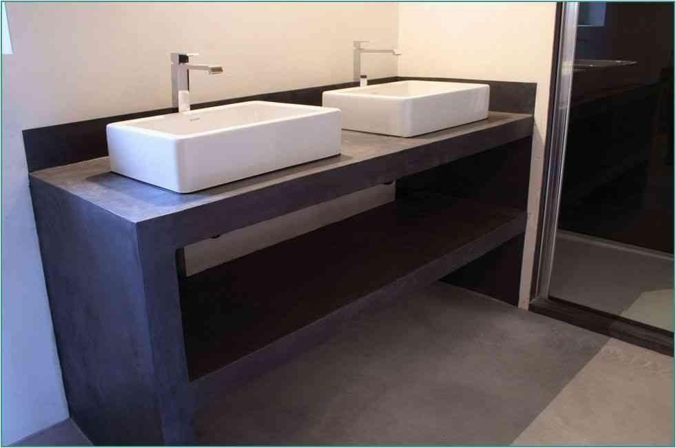 Fabriquer Meuble Salle De Bain Beton Cellulaire Unique Meuble Salle De Bain  Beton Impressionnant Meubles De Salle Bain B